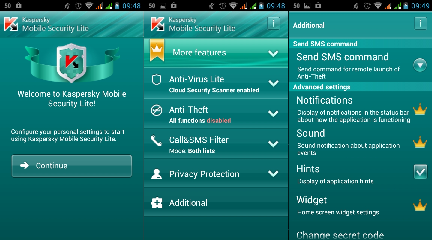 Anti-virus and Anti Malware Apps for Android